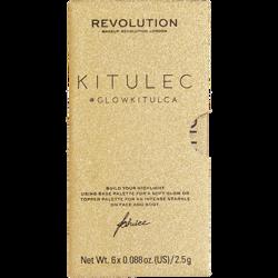 Makeup Revolution x Kitulec #GLOWKITULCA Zestaw rozświetlaczy
