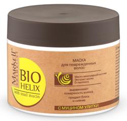 Markell Bio Helix Maska odżywcza z ekstraktem ze śluzu ślimaka do włosów zniszczonych 290g