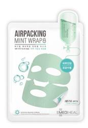 Mediheal AirPacking Maska kojąca do twarzy w płachcie, do każdej cery szczególnie naczynkowej i z wypryskami