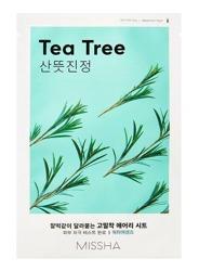 Missha AIRY Fit Sheet Mask Tea Tree Łagodząca maska w płachcie Drzewo herbaciane 19g