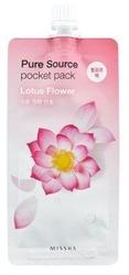 Missha Pure Source Pocket Pack LOTUS FLOWER Maseczka peel-off 10ml
