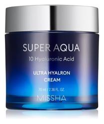 Missha Super Aqua Ultra Hyalron Cream Nawilżający krem do twarzy 70ml