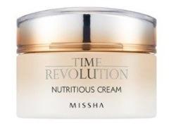 Missha Time Revolution Nutritious Cream Nawilżający krem do twarzy 50ml