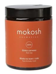 Mokosh Glinka czerwona - Maska na twarz i ciało 180ml