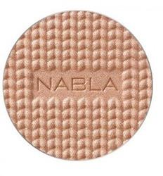NABLA Shade & Glow Refill - Pudrowy rozświetlacz Jasmine- Wkład