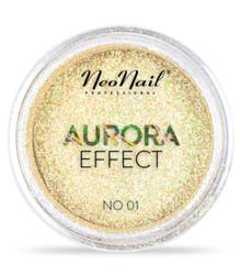 NEONAIL Aurora effect - Metaliczny pyłek do paznokci No01
