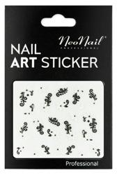 NEONAIL Naklejki na paznokcie Black&white  2804-03