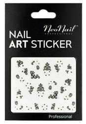 NEONAIL Naklejki na paznokcie Black&white  2804-04