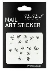NEONAIL Naklejki na paznokcie Black&white  2804-12