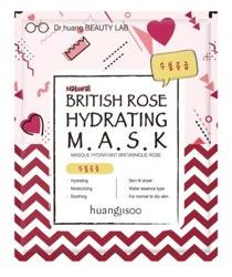 NEW FEEL Maseczka w płachcie British Rose Hydrating 25ml