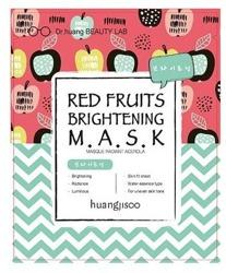 NEW FEEL Rozświetlająca maska do twarzy w płachcie Red Fruits Brightening 25ml