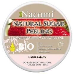 Nacomi Naturalny peeling cukrowy do ciała nawilżający 100ml