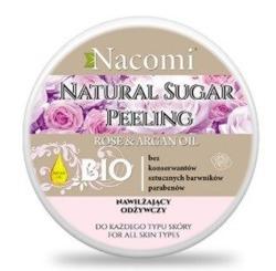 Nacomi Naturalny peeling cukrowy do ciała nawilżający 200ml