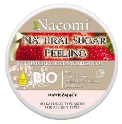 Nacomi Naturalny peeling cukrowy do ciała nawilżający 240g