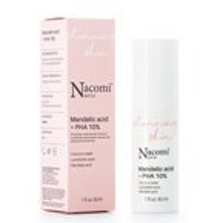 Nacomi Next Level Stunning Skin Mandelic Acid + PHA 10% Peelingujące serum do twarzy z kwasem migdałowym i PHA 10% 30ml