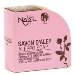 Najel Mydło Aleppo oliwkowo-laurowe z różą damasceńską 100g