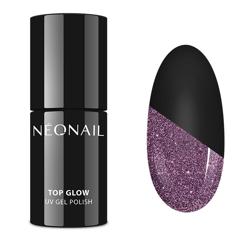 Neonail Lakier 7809-7 Top Glow SPARKLING 7,2ml