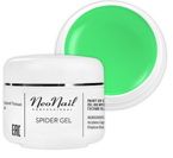 Neonail  Spider Gel Żel do zdobień Neon Green 5ml