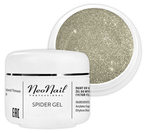 Neonail  Spider Gel Żel do zdobień SILVER 5ml