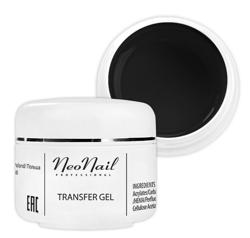 Neonail Transfer Gel Black Żel transferowy do folii 5ml