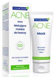 NovaClear Acne Mask Maska do twarzy Cera tłusta i trądzikowa 40g