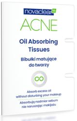 NovaClear Oil Absorbing Tissues Bibułki Matujące 50 szt