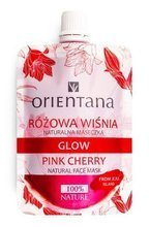 ORIENTANA Naturalna maseczka GLOW Różowa Wiśnia 30ml