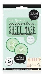 Oh K!  Sheet Mask Cucumber - Maska w płachcie z ekstraktem z ogórka 20ml