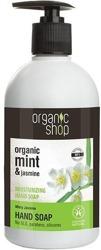 Organic Shop Mydło do rąk miętowy jaśmin 500ml