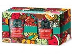 Organic Shop Zestaw Body Desserts Mus do ciała + Peeling do ciała 2x450ml