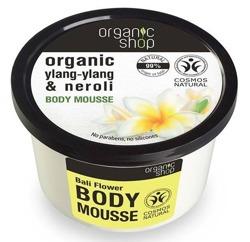 Organic shop Mus do ciała Kwiaty z Bali 250ml