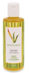 Orientana Imbir i Trawa Cytrynowa - Olejek do ciała 210 ml