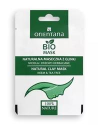 Orientana Maska z glinki Miodla i Drzewo Herbaciane 10ml