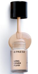 PAESE Long Cover Fluid  Podkład kryjący o przedłużonej trwałości 0 Nude