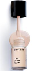 PAESE Long Cover Fluid  Podkład kryjący o przedłużonej trwałości 00 Porcelana