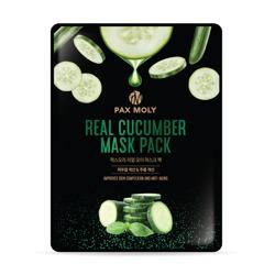 PAX MOLY Real Cucumber Mask Pack Odświeżająco-łagodząca maska w płachcie 25ml