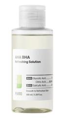 PURITO AHA BHA Refreshing Solution Złuszczająco-odświeżający płyn z AHA BHA 100ml