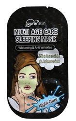 PurenSkin Multi Age Care Sleeping Mask Rozjaśniająca maseczka całonocna 10g