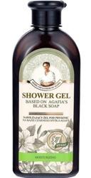 Receptury Babuszki Agafii Czarne mydło Żel pod prysznic Nawilżający 350ml