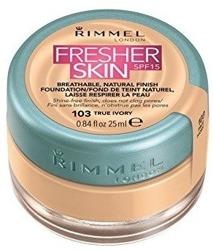 Rimmel Fresher Skin - Podkład w słoiczku 103 True Ivory 25ml