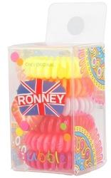 Ronney Funny Ring Bubble Gumki do włosów 6szt NR.6