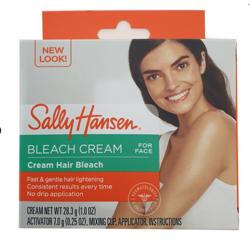 Sally Hansen Creme Hair Bleach For Face Aloe NOWY - Rozjaśniacz do włosków