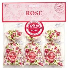 Satis Zestaw 3 woreczków zapachowych Różany