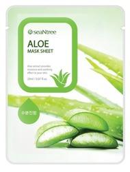 SeaNtree Aloe Mask Sheet Maska do twarzy w płachcie