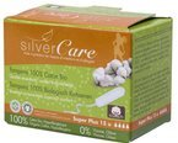 Silver Care Tampony Super Plus bez aplikatora 15szt