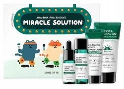SomeByMi Miracle Solution ZESTAW 4 produkty dla cery wrażliwej i problematycznej