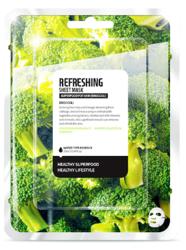 SuperFood For Skin Odświeżająca maseczka w płachcie Broccoli