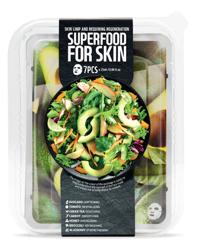 SuperFood For Skin Zestaw 7 maseczek w płachcie do skóry zwiotczałej, wymagającej regeneracji