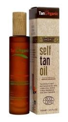 TAN ORGANIC Self Tan Oil Olejek samoopalający do twarzy i ciała 100ml