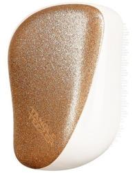 Tangle Teezer Compact Glitter Gold Kompaktowa szczotka do włosów